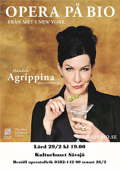 Livesänd opera AGRIPPINA