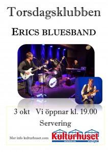 Torsdagsklubben Erics bluesband